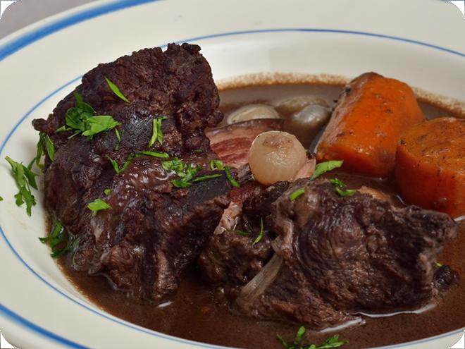 Daube de joue de bœuf à la provençale