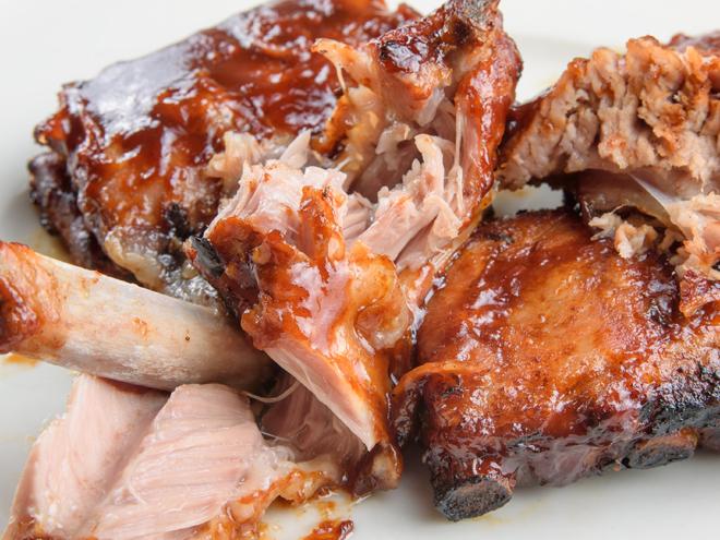 Travers de porc - BBQ RIBS