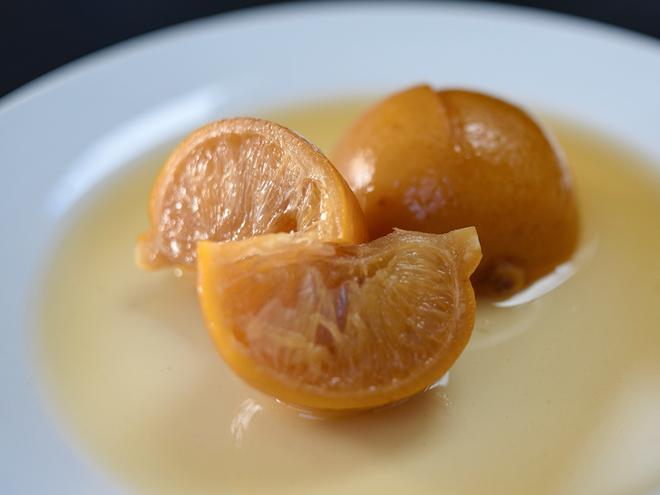 Citron bergamote beldi confit